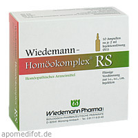 Wiedemann Homöokomplex RS, 10X2 ML, Wiedemann Pharma GmbH