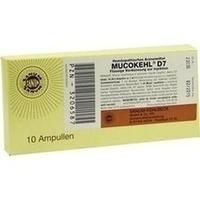 MUCOKEHL D 7, 10X1 ML, Sanum-Kehlbeck GmbH & Co. KG