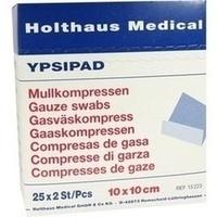 MULLKO STE YPSIPAD 10X10CM, 25X2 ST, Holthaus Medical GmbH & Co. KG