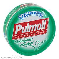 PULMOLL Hustenbonbons Eukalyptus zuckerfrei, 50 G, sanotact GmbH