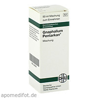 GNAPHALIUM PENTARKAN, 50 ML, Dhu-Arzneimittel GmbH & Co. KG