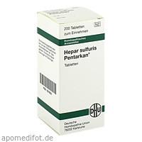 HEPAR SULFURIS PENTARKAN, 200 ST, Dhu-Arzneimittel GmbH & Co. KG