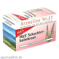 H&S SCHACHTELHALMKRAUT, 20X2.0 G, H&S Tee - Gesellschaft mbH & Co.
