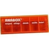 ANABOX-Tagesbox orange, 1 ST, Wepa Apothekenbedarf GmbH & Co. KG
