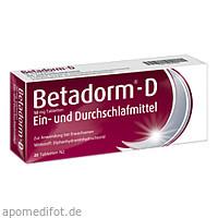 BETADORM D, 20 ST, Recordati Pharma GmbH