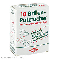 EINMAL BRILLENPUTZTUE FRA, 10 ST, Büttner-Frank GmbH