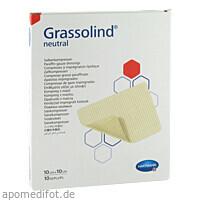 GRASSOLIND Salbenkompressen steril 10X10CM, 10 ST, Paul Hartmann AG