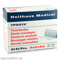 FIXIERBINDE YPSIFIX 8CMX4M, 20 ST, Holthaus Medical GmbH & Co. KG