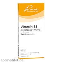 VITAMIN B 1 INJEKTOP 100MG, 10X2 ML, Pascoe pharmazeutische Präparate GmbH
