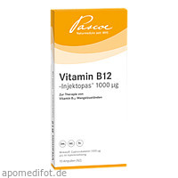 VITAMIN B12 INJEKTOP1000UG, 10X1 ML, Pascoe pharmazeutische Präparate GmbH