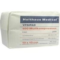 MULLK UNS 8F YPSIPAD 10X10, 100 ST, Holthaus Medical GmbH & Co. KG