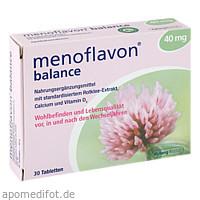 Menoflavon Balance Tabl., 30 ST, Kyberg Vital GmbH