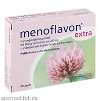 Menoflavon Extra Kapseln, 30 ST, Kyberg Vital GmbH