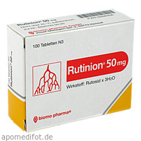 RUTINION, 100 ST, Biomo Pharma GmbH