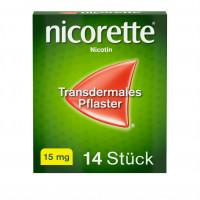 Nicorette TX Pflaster 15mg, 14 ST, Johnson & Johnson GmbH (Otc)