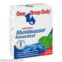 One Drop Only natürliches Mundwasser Konzentrat, 50 ML, One Drop Only Chem.-Pharm. Vertr. GmbH