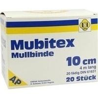 MUBITEX MULLBINDEN 10CM, 20 ST, Erena Verbandstoffe GmbH & Co. KG