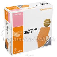ALLEVYN Ag Gentle 10x10 cm Wundverband, 10 ST, Smith & Nephew GmbH