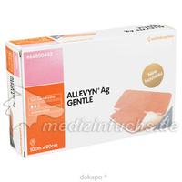ALLEVYN Ag Gentle 10x20 cm Wundverband, 10 ST, Smith & Nephew GmbH