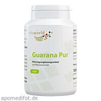 Guarana pur 500mg, 120 ST, Vita World GmbH