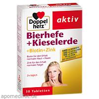 Doppelherz Bierhefe + Kieselerde, 30 ST, Queisser Pharma GmbH & Co. KG