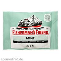 FISHERMANS FRIEND MINT, 25 G, Queisser Pharma GmbH & Co. KG