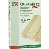 Curaplast Wundschnellverb.sensitiv 6x10cm, 10 ST, Junek Europ-Vertrieb GmbH