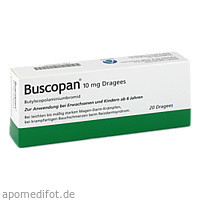 BUSCOPAN überzogene Tabletten, 20 ST, Orifarm GmbH
