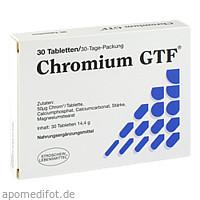 CHROMIUM GTF, 30 ST, Stroschein Gesundkost Ammersbek GmbH