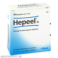 Hepeel N, 10 ST, Biologische Heilmittel Heel GmbH