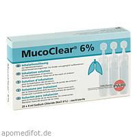 MucoClear 6% NaCl Inhalationslösung, 20X4 ML, Pari GmbH