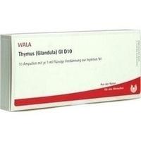 THYMUS (GLANDULA) GL D10, 10X1 ML, Wala Heilmittel GmbH