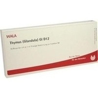 THYMUS (GLANDULA) GL D12, 10X1 ML, Wala Heilmittel GmbH
