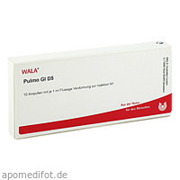 PULMO GL D 5, 10X1 ML, Wala Heilmittel GmbH
