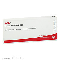 NERVUS FACIALIS GL D12, 10X1 ML, Wala Heilmittel GmbH
