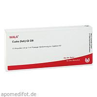 CUTIS (FETI) GL D 8, 10X1 ML, Wala Heilmittel GmbH