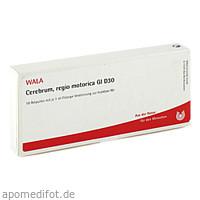 CEREBRUM REGIO MOTO GL D30, 10X1 ML, Wala Heilmittel GmbH