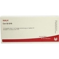 COR GL D10, 10X1 ML, Wala Heilmittel GmbH
