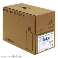 Ringer-Lactat nach Hartmann B. Braun Ecoflac Plus, 10X500 ML, B. Braun Melsungen AG