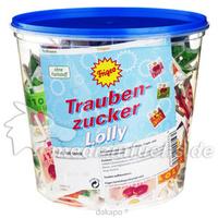 Traubenzucker Lolly 3-fach (Erdbeer Kirsch Tropic), 1 ST, Katjes Fassin GmbH & Co. KG