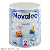 Novalac 2 Folge-Milchnahrung, 800 G, Vived GmbH