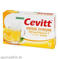 HERMES Cevitt Heiße Zitrone, 14 ST, Hermes Arzneimittel GmbH