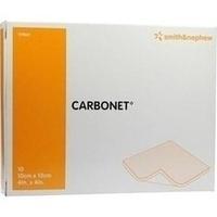 CARBONET 10X10CM, 10 ST, Smith & Nephew GmbH
