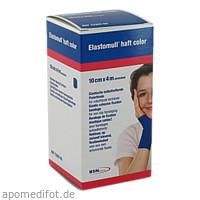 Elastomull haft 4mx10cm color blau, 1 ST, Bsn Medical GmbH
