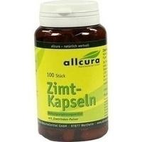 Zimt Kapseln, 100 ST, Allcura Naturheilmittel GmbH