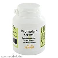 Bromelain Enzym Kapseln, 100 ST, Allpharm Vertriebs GmbH