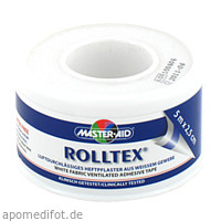 ROLLTEX Heftpflaster 5mx2.5cm Master Aid, 1 ST, Trusetal Verbandstoffwerk GmbH