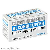 Alkoholtupfer, 100 ST, SERIMED GmbH & Co.KG