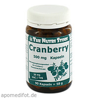 Cranberry 500mg, 90 ST, Hirundo Products