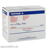 TOPPER 8 STER 7.5X7.5 TS8072, 50X2 ST, Kci Medizinprodukte GmbH